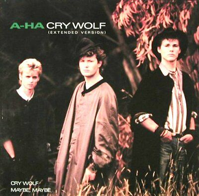 "12"" - A - Ha - Cry Wolf (Pop) Spanish Press.1986 New Listen Limited Price Offer"