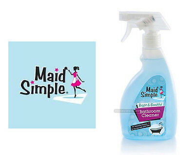 Maid Simple Bathroom Cleaner Spray 500ml For Cleaning Basins, Taps and Baths
