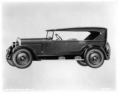 1926 Nash Special Six 231 Factory Photo ad0161