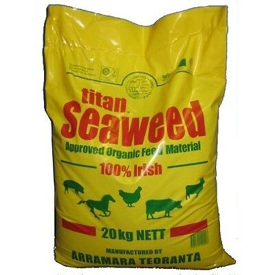 Seaweed supplement  20kg Heavy-duty pack for livestock and pets