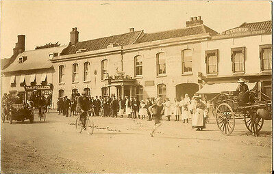 HINGHAM( Norfolk) : Road Race through Hingham RP