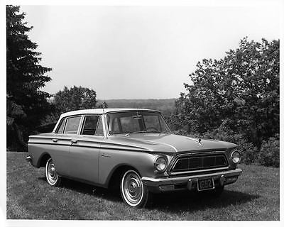 1962 Rambler Anerican 4 Door Sedan Photo Poster Z0356