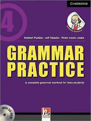 Grammar Practice Level 4 Paperback with CD-ROM: A Complete Grammar Workout for T