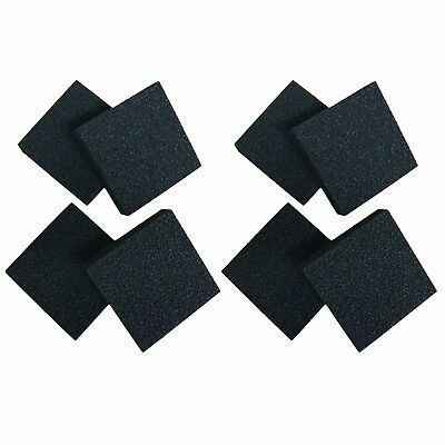 8 x Compatible Carbon Foam Filter Pads Suitable For Juwel Standard / BioFlow 6.0