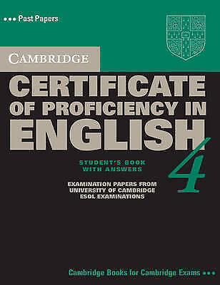Cambridge Certificate of Proficiency in English 4 Self Study Pack (CPE Practice