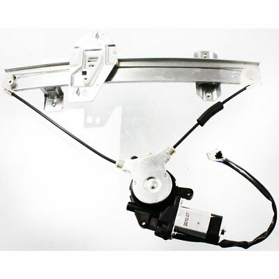 New Window Regulator Glass Rear Passenger Right Side with motor Power RH Hand RL