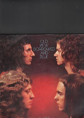 SLADE - old new borrowed and blue LP
