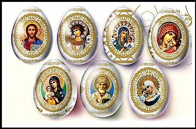 Religious Easter Egg Wrap STICKER Sleeve - *FREE postage - AUST. Local Supplier