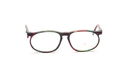 Vintage NEOSYLE eyeglasses for women in green and red Mod. Forum 510 54-18mm  D8