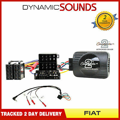 CTSFA003.2 Steering Wheel Control Interface Adaptor Lead For Fiat Punto Ducato