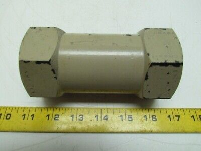 Vickers DS8P1-10-5-11 Steel Line Mounted Check Valve 3000psi Hydraulic 50 GPM