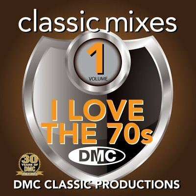 DMC Classic Mixes - I Love The 70s Megamix Vol 1 Seventies Music CD