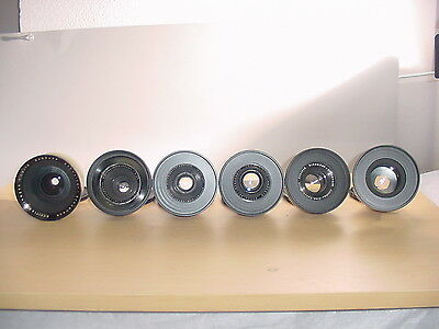 Classic Film Video PL Lens Sets 4 RED: Schneider, Cooke, S.Baltar, MAKE OFFERS