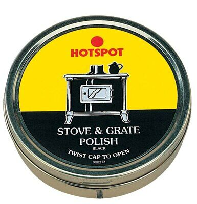Hotspot Stove and Grate Black Polish 170g - Covers Minor Scratches and Rust
