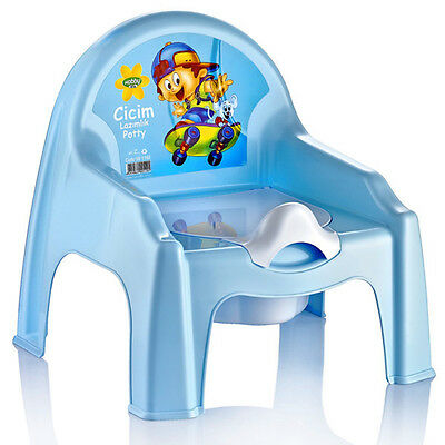 Children Kid Baby Toddler Training Potty Chair Seat Plastic Removable Toilet New