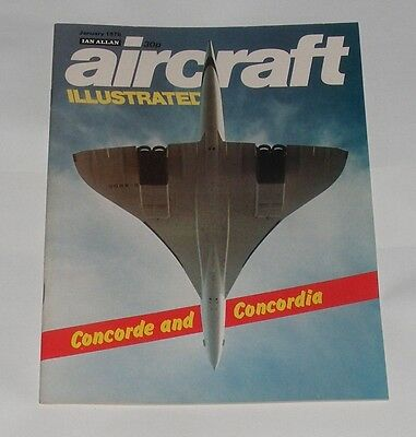 Aircraft Illustrated January 1976 - Concorde And Concordia
