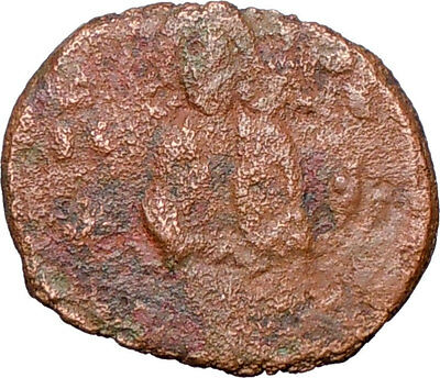 JESUS CHRIST Ancient Christian Byzantine Nicephorus III Follis1078AD Coin i25806
