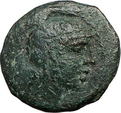 Pella Macedonia 158BC Athena Bull Ancient i22735  ANCIENT Rare Greek Coin i22735