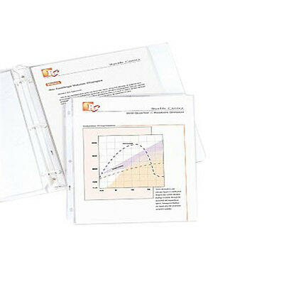 New C-Line Standard 3-Hole Punched Sheet Protectors - 100pk - Free Shipping