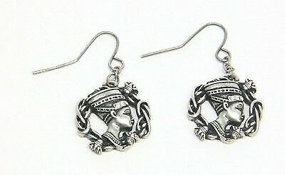 Mystica Fashion Egyptian Queen Nefertiti Paharoh Wife Deity Earrings