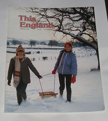 This England Winter 1991 - Surrey/Oakham,Rutland/Blustery Blackpool