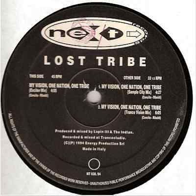"12"" Mix Lost Tribe My Vision, One Nation, One Tribe Gdl"