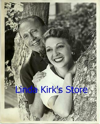"Jack Benny & Wife Mary Livingstone Promotional Photograph ""Jack Benny Show"" 1951"