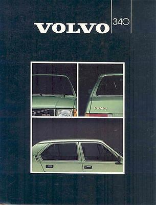 1982 Volvo 340 Brochure Swedish wp3577-UT7QGM
