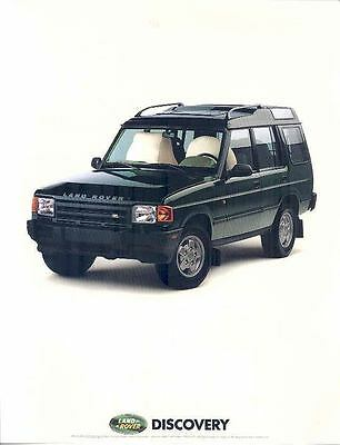 1984 Land Rover Discovery Brochure wp5192-BP27HM