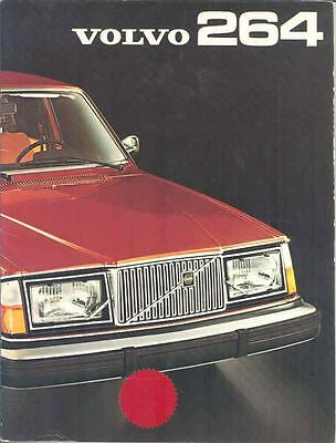 1975 Volvo 264 Brochure French wp7516-WPNCZ3