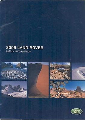 2005 Land Rover and Range Rover Press Kit CD-Rom wp9951-KSLYV7