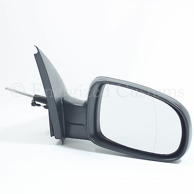 Vauxhall Corsa C 2000-2006 Black Manual Door Wing Mirror Drivers Side Right O/s