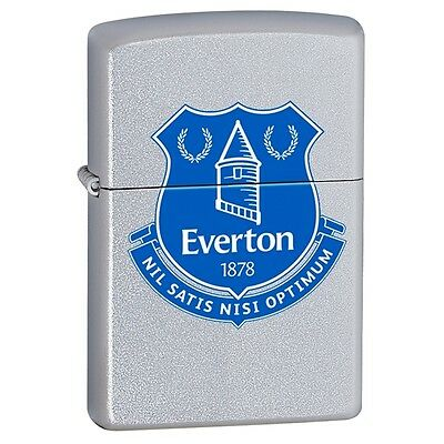 Zippo Lighter Official Everton Football Club Crest Personalised Engraved Free