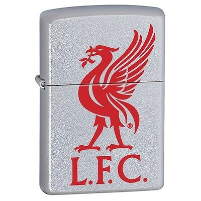 Zippo Lighter Official Liverpool Football Club Crest Personalised Engraved Free