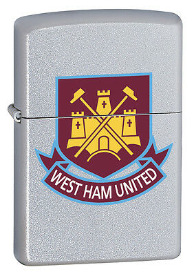 Zippo Lighter Official West Ham United Football Club Personalised Engraved Free