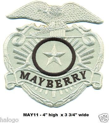 Andy Griffith Mayberry Police Dept Patch  - May11