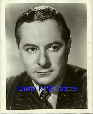 George Jessel Promotional Photograph Head Shot Black & White Classic