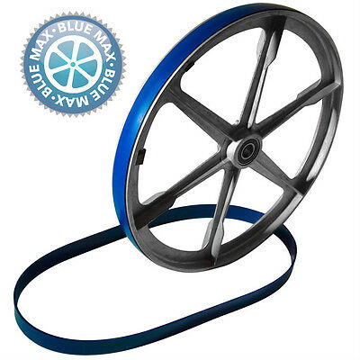 3 BLUE MAX URETHANE BAND SAW TIRES and ROUND DRIVE BELT FOR SHOPCRAFT MODEL 7060