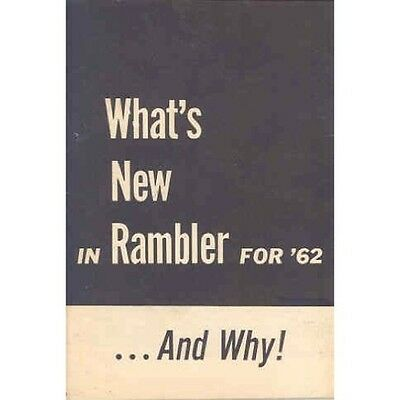 1962 AMC Rambler Features Brochure George Romney wo1388-EZLHEX
