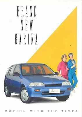 1989 1990 Holden Barina Brochure wo2758-Q21A3S