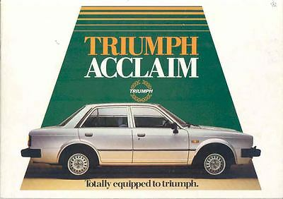 1982 Acclaim Saloon Prestige Brochure  wo3916-HNGBS2