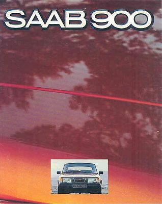 1980 Saab 900 Brochure Swedish wo8739-DUNWFI