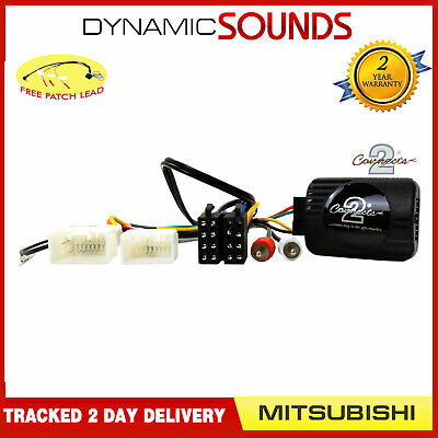 Steering Stalk Control Adaptor Phone Button Support For Mitsubishi Outlander