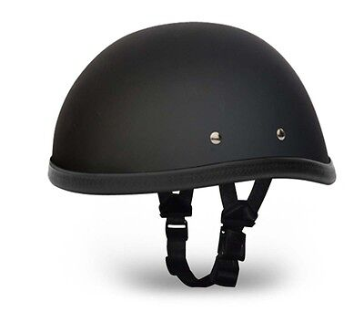 Matt Black Sons of Anarchy Style USA Novelty Helmet Chopper Bobber Cruiser S-2XL