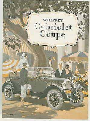 1928 Willys Whippet Four Cabriolet Brochure Canada ws1028-3TVUM2