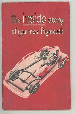 1948 Plymouth Owner's Manual ws2686-TJNZ7Y