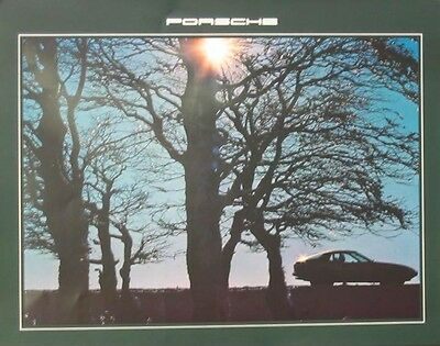 1979 Porsche 924 Showroom Poster we1714-S8AJS9