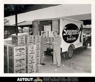 1955 Dodge Seagrams Seven Crown Truck ORIGINAL Factory Photo we5222-4CAQNJ