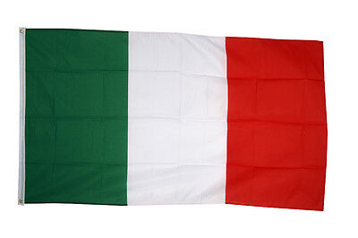 Italy National Country Flag - Large 5 x 3' - 100% Polyester Italian Euro 2016
