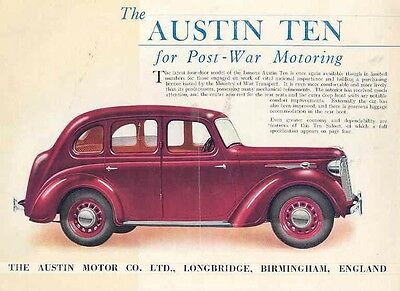 1946 Austin Ten Sales Brochure wb5333-L6949N
